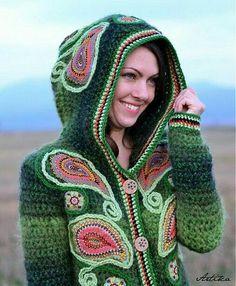 Crochet uau
