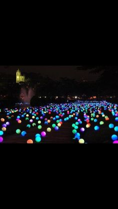 Put glow sticks in balloons and go crazy!