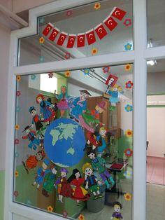 23 nisan panomuz I School, Diy For Kids, Montessori, Artworks, Collage, Clip Art, Classroom, Activities, Decoration