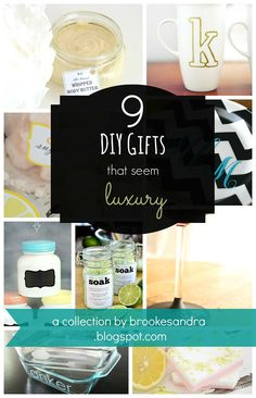 9 DIY Gifts that seem Luxury   Brooke Sandra Blog   Life & DIY Inspiration