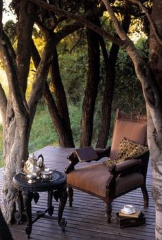 Love sitting here at Ngala Lodge and watching the plains come alive with the night animals..........