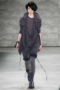 Nicholas K all shaids of grey. #HUEYorkFashionWeek