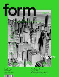 form – Design Magazine   Nº 255 Krieg/War