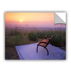 Peach Sunset by Dennis Frates Wall Mural