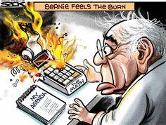 Political Cartoons of the Week: Bernie Feels the Bern