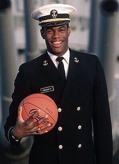 Midshipman David Robinson Naval Academy'87 5 Time NBA Champ, NBA Hall of Fame 2009 #50 San Antonio Spurs