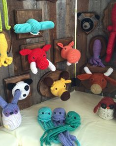 crocheted taxidermy!!! @ nothing but a pigeon: crochet