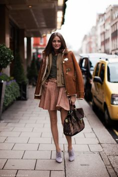 #oliviapalermo #coat #skirt