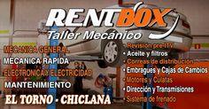 Porqué pagar más? RentBox...Tu taller de Confianza. www.rentbox-taller.com