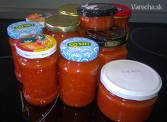 Harissa domácí s papričkami habanero (fotorecept) Chili, Jar, Food, Chile, Essen, Meals, Chilis, Yemek, Jars