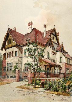 Reinhold Volkel- Немецкие загородные виллы начала ХХ века
