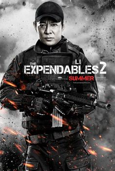 Exclusive Expendables 2 Character Poster Featuring Jet Li!