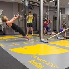 University of Huddersfield's Student Central featuring Technogym's #OMNIA system.