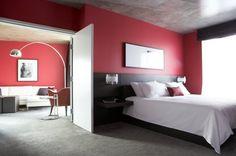 Bedroom Interior Design at Opus Hotel, Canada