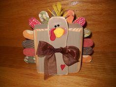 Craft Goodies: 2x4 Turkey!!!