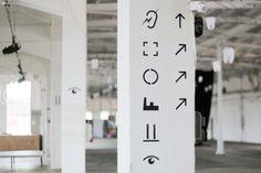 symboly v patře / Papírna Plzeň / design Lukáš Beran