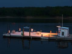 Evening at Lithia Marina