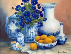 Artistul Jacqueline Brochu.