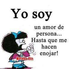 Spanish Inspirational Quotes, Spanish Quotes, Self Quotes, Life Quotes, Mafalda Quotes, Funny Note, Quotes En Espanol, Funny Emoji, Frases Humor