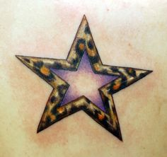 would love this with a bright pink middle Cheetah Tattoo, Zebra Tattoos, Leopard Print Tattoos, Leopard Prints, Side Tattoos, All Tattoos, Shoulder Tats, Star Wars, I Tattoo
