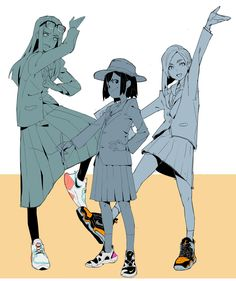 Eizouken ni wa Te wo Dasu na! Manga Art, Anime Art, Character Art, Character Design, Cartoon Art Styles, Art Reference Poses, Aesthetic Art, Art Inspo, Anime Characters