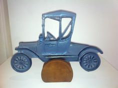 Steel Blue Model Ford T Car
