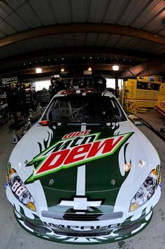 What image is above the door on every one of Dale Jr.'s paint schemes?