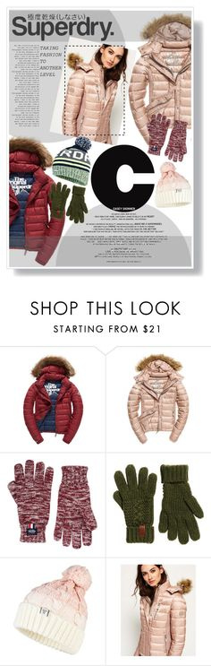 """The Cover Up – Jackets by Superdry: Contest Entry"" by kimberwoo0397 ❤ liked on Polyvore featuring Fuji and Superdry"