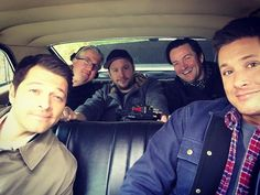 """Jensen Ackles on Instagram: """"Just cruisin in """"baby"""" with a few questionable characters. Happy Friday. #spnfamily"""""""