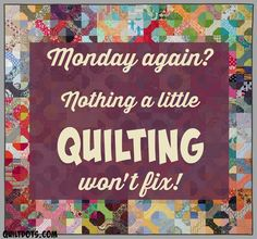 #quilting Who plans to do a little quilting today? (background image by Timna Tarr Quilts) #TimnaTarrQuilts