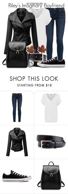 """""""Riley's Imaginary Boyfriend"""" by leslieakay ❤ liked on Polyvore featuring rag & bone, WearAll, Converse, Natures Jewelry, disney, disneybound and disneycharacter"""
