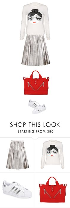 """""""street style"""" by ecem1 ❤ liked on Polyvore featuring Gucci, Alice + Olivia, adidas and Kenzo"""