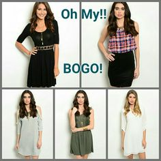 Buy 1 Get 1 FREE!!!! Don't MISS this incredible deal!!!! I will make a separate listing for you. Dresses