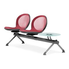 """OFM Net Series Two Seat Bench with Table - 31"""" H x 76"""" W x 24"""" D - $809.69"""