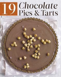 19 Chocolate Pies and Tarts
