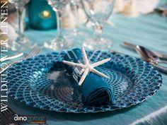 Iridescent Taffeta Ocean with Lilybelle Turquoise | Dino Gomez Photography