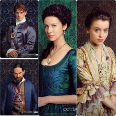 Costumes in season 2 of Outlander are unbelievable!
