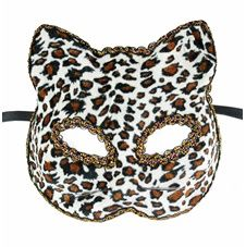 Kattmask Leopard