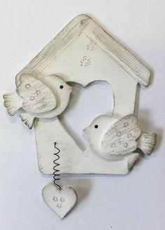 Ptáčci s domečkem různé barvy :: Keramika Andreas