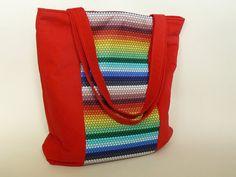 Large corduroy tote bag made by Sagacraft