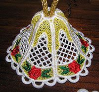 And yet another beautiful embroidered bell