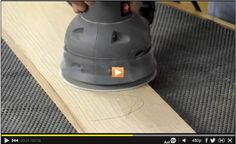 Did you know that a pencil is a great sanding partner? The Family Handyman editor, Travis Larson, will show you how a pencil can make the sanding part of a woodworking project quicker and turn out perfect every time. Watch: http://www.familyhandyman.com/video/v/72374693/sanding-wood-part3-the-pencil-trick.htm