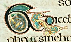 Ampersand (and/&). From the Celtic-Christian Illuminated Manuscript, The Book of Kells