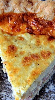 Southern Ham and Cheese Breakfast Pie ❊