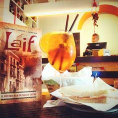 Laif Cagliari | Piazza Yenne #spritz #lunch #happyhour #bar #caffe #food #happy #cagliari #piazzayenne #forzacasteddu