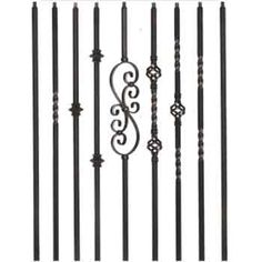 Best Hollow Twist Basket Series Iron Balusters For Your 400 x 300