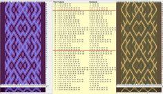 40 tarjetas, 3 colores, repite cada 20 movimientos // sed_736 diseñado en GTT༺❁