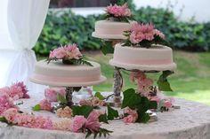 montaje mesa torta de matrimonio