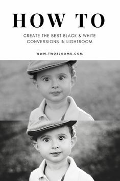 Learn how to create the BEST black & white image conversions in Lightroom with this Lightroom tutorial from Two Blooms. watch now! Photoshop For Photographers, Photoshop Photography, Photography Tips, Portrait Photography, Popular Photography, Photography Classes, Photography Business, Black And White Portraits, Black And White Photography