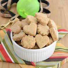 Chicken cheddar dog biscuits